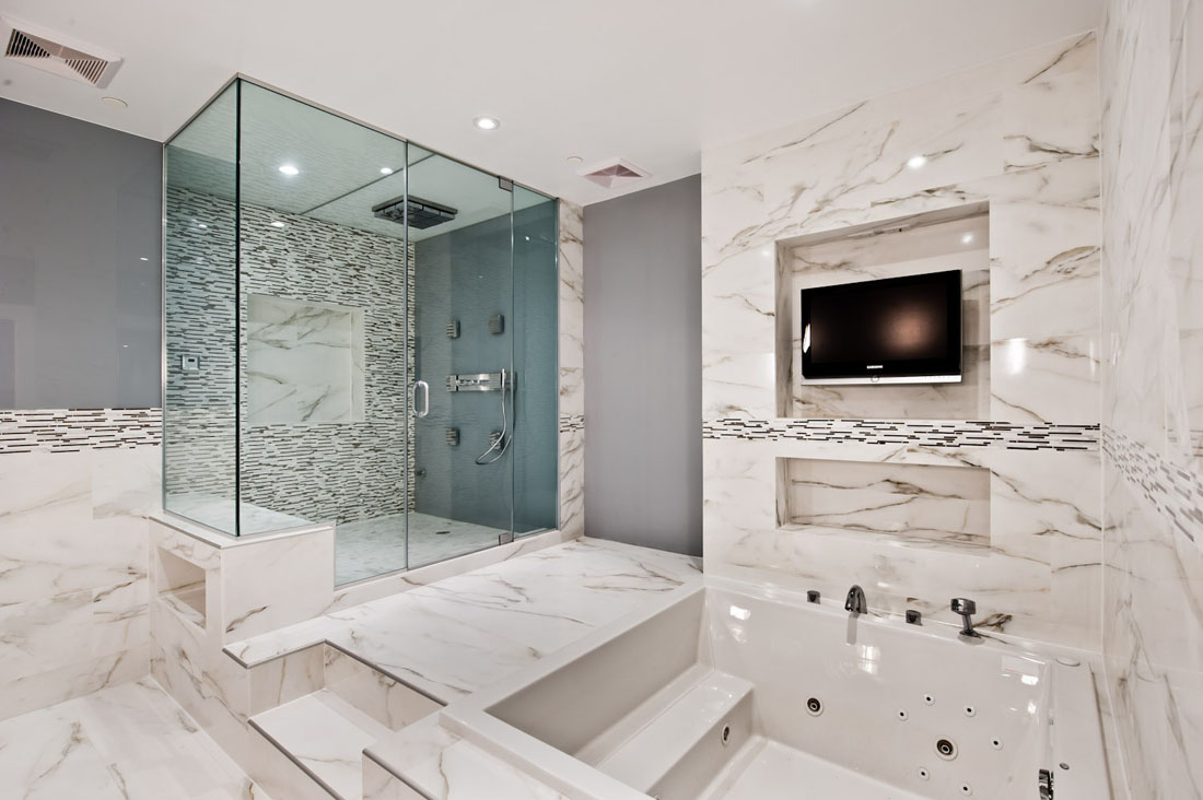 Luxury Modern Bathrooms For Master Bathroom Design And Large within 12 Luxury Modern Bathrooms, Most of the Nicest and Gorgeous - DIYHous